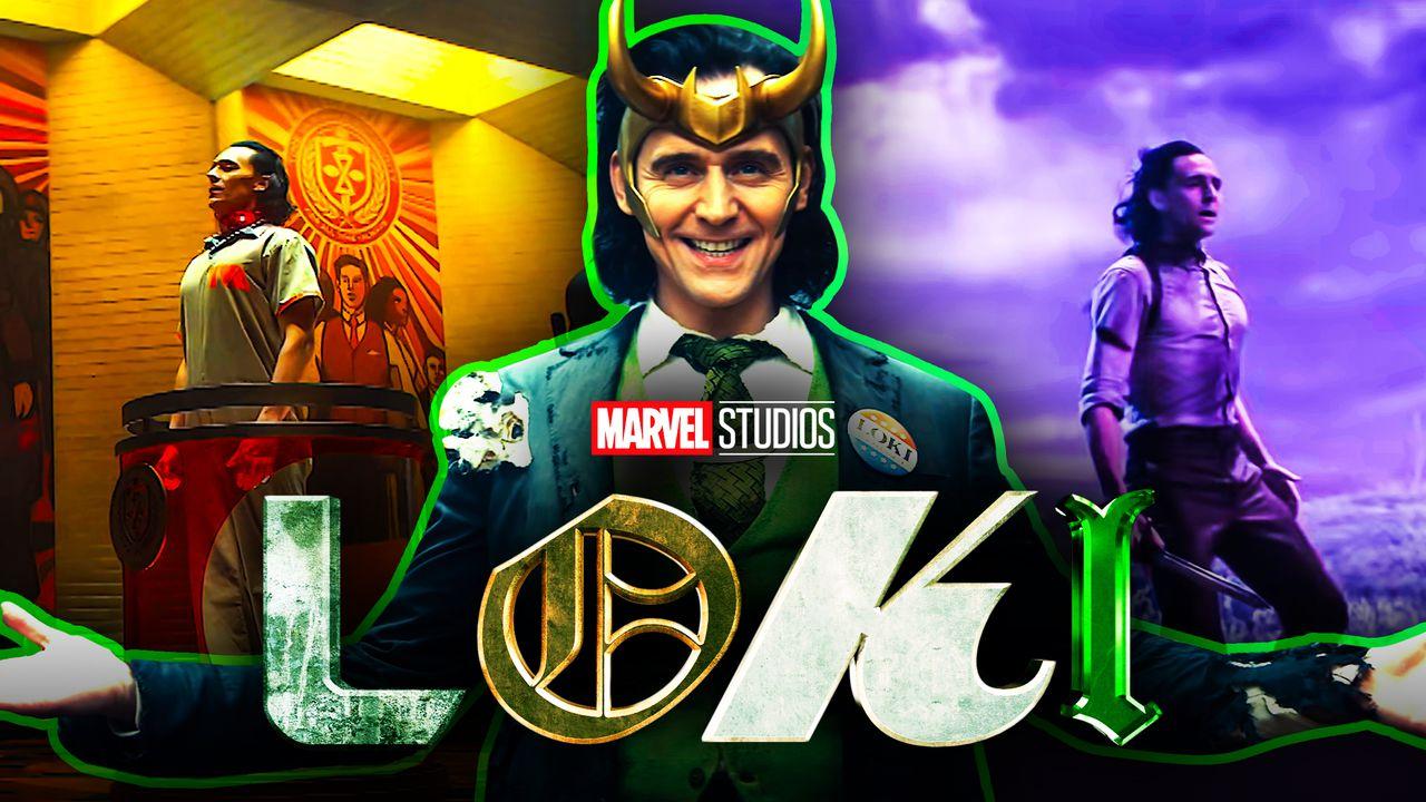 Loki Disney+ Scenes