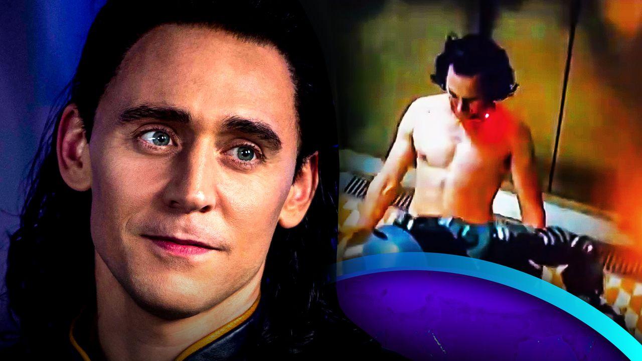 Loki Tom Hiddleston Shirtless