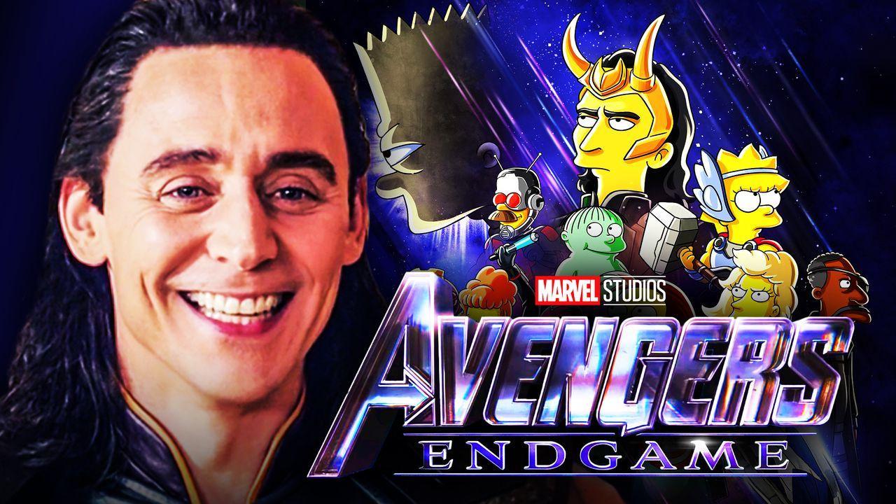 Tom Hiddleston as Loki, The Simpsons