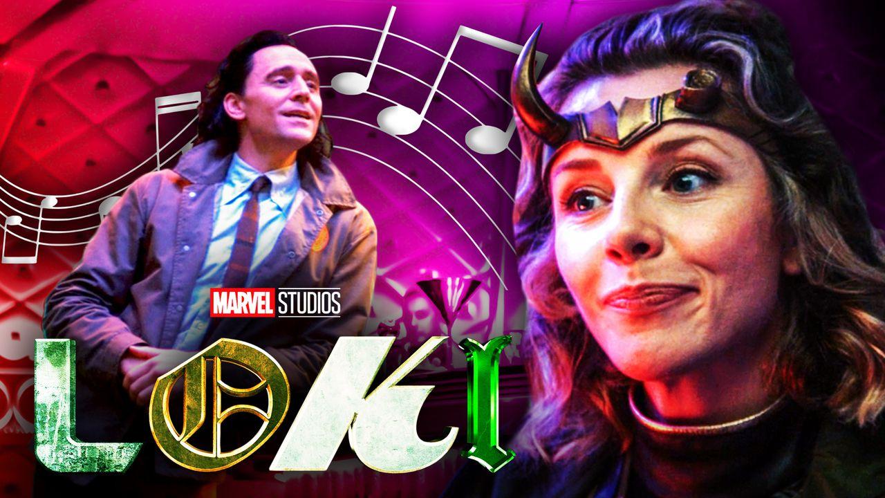Loki, Loki logo, Musical notes, Sylvie