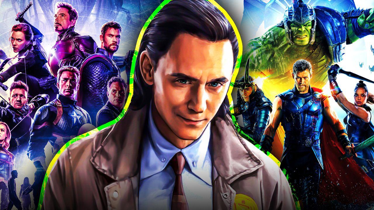 Loki Avengers Endgame Thor Ragnarok posters