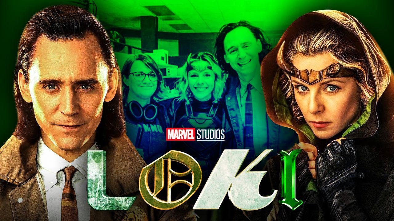 Loki Tom Hiddleston Sylvie Sophia Di Martino