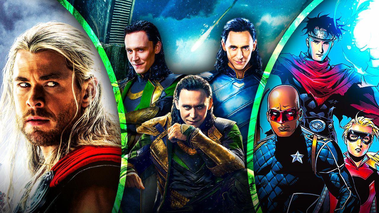 Loki post credits Thor Young Avengers