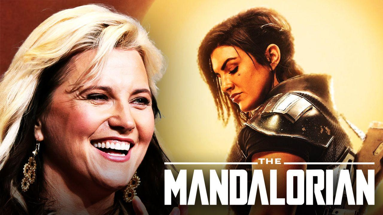 Star Wars, Mandalorian, Cara Dune, Lucy Lawless