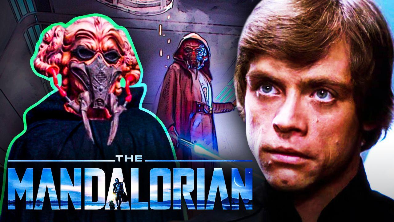 The Mandalorian Plo Koon Luke Skywalker