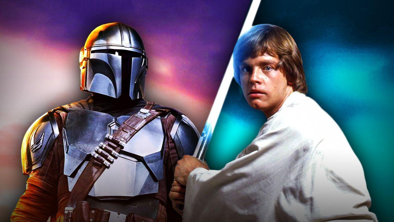 Mando, Mark Hamill as Luke Skywalker