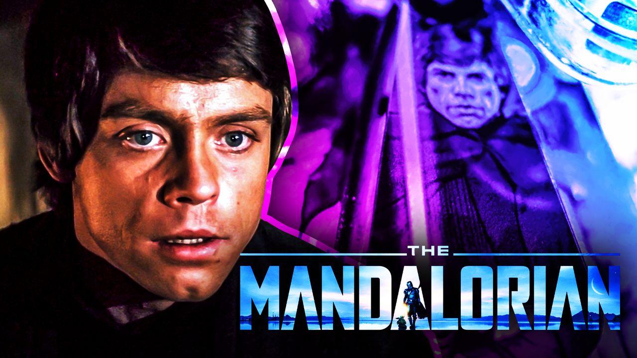 Luke Skywalker, The Mandalorian logo