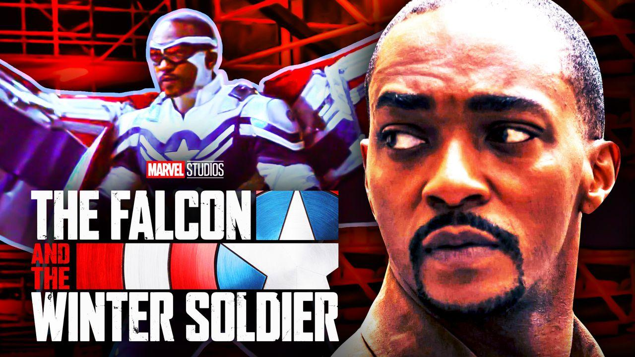 Captain America Anthony Mackie Falcon and the Winter Soldier