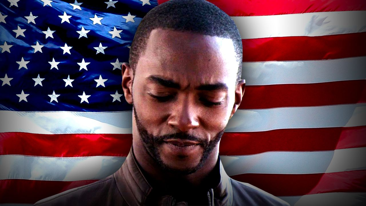 Anthony Mackie, American Flag