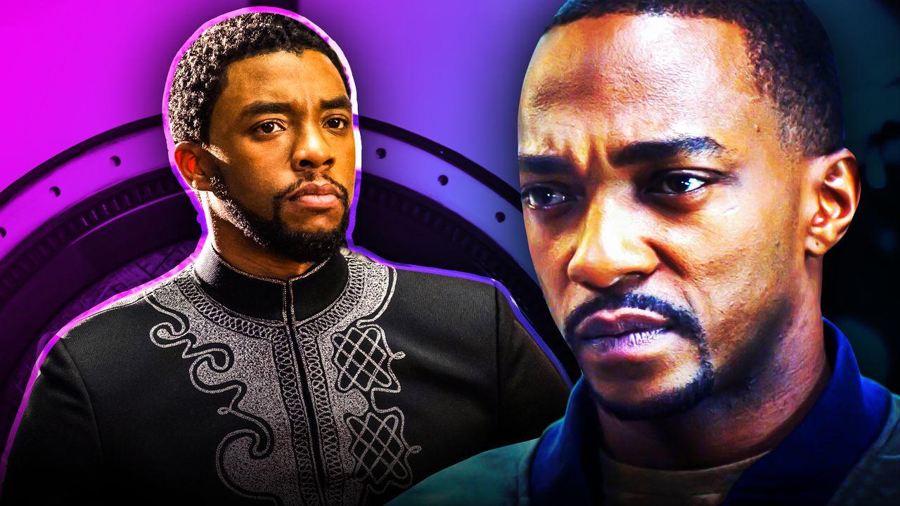 Black Panther, Chadwick Boseman, Anthony Mackie