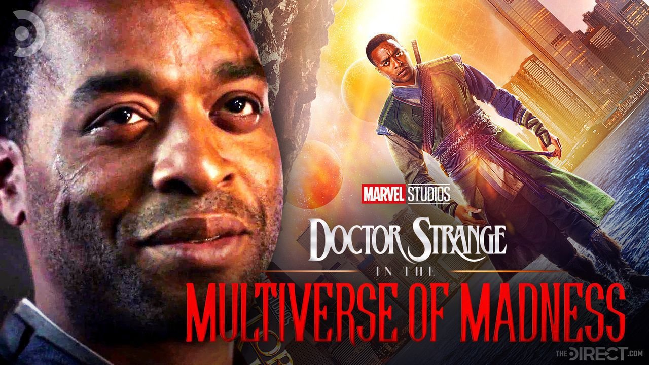 Chiwetel Ejiofor, Baron Mordo, Doctor Strange in the Multiverse of Madness logo