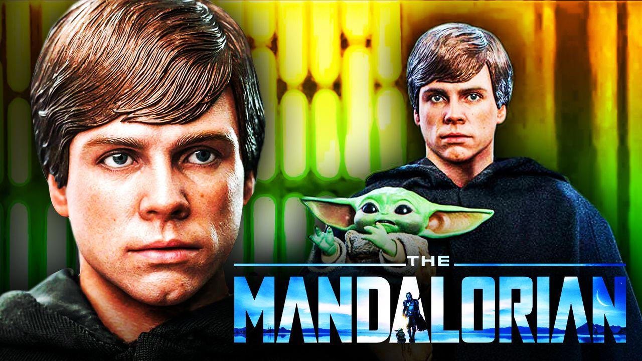 Mark Hamill as Luke Skywalker, Grogu, The Mandalorian