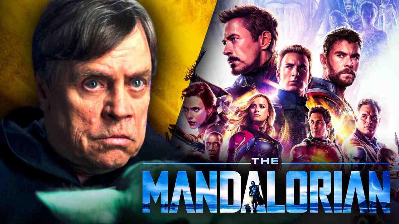 Luke Skywalker Mark Hamill Mandalorian Marvel