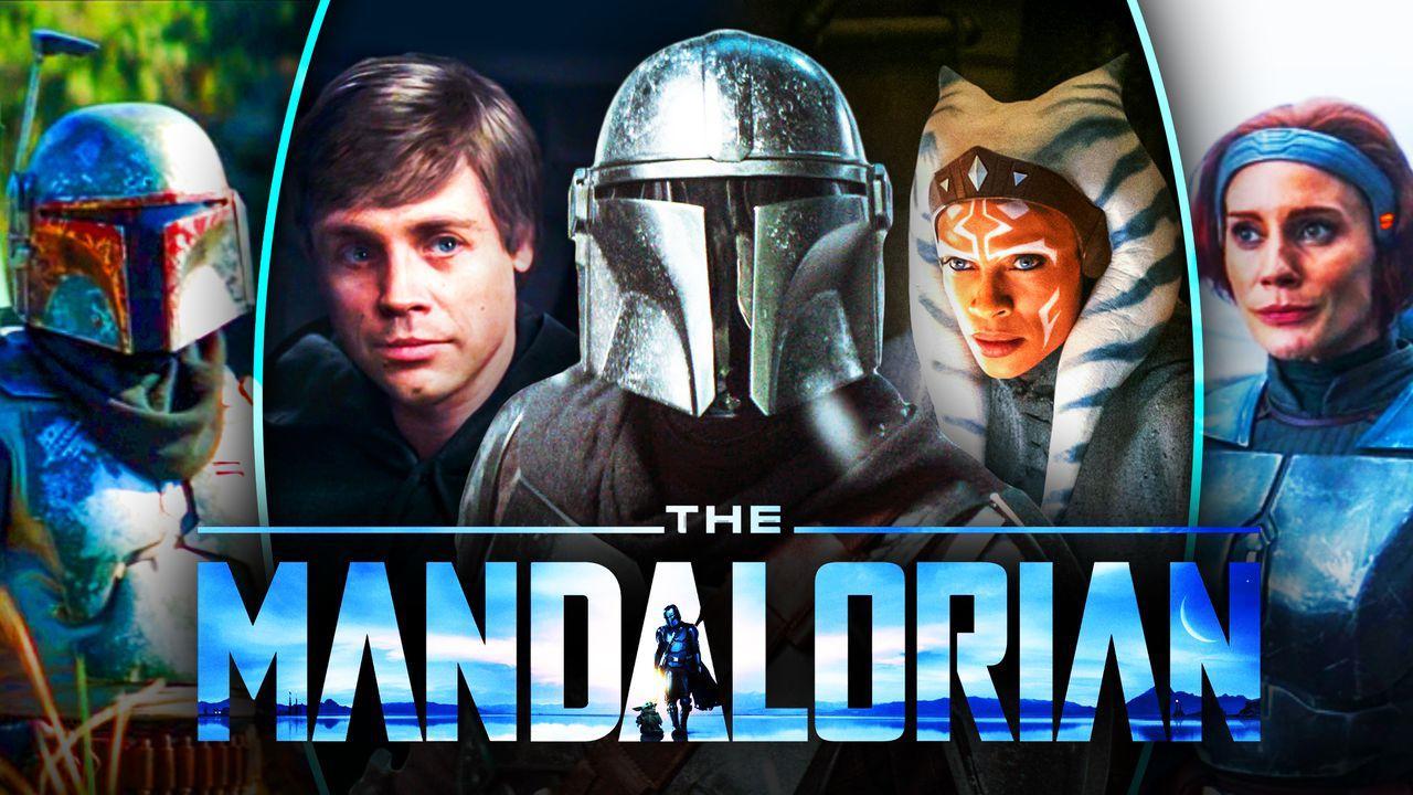 The Mandalorian Characters Ahsoka Luke Skywalker