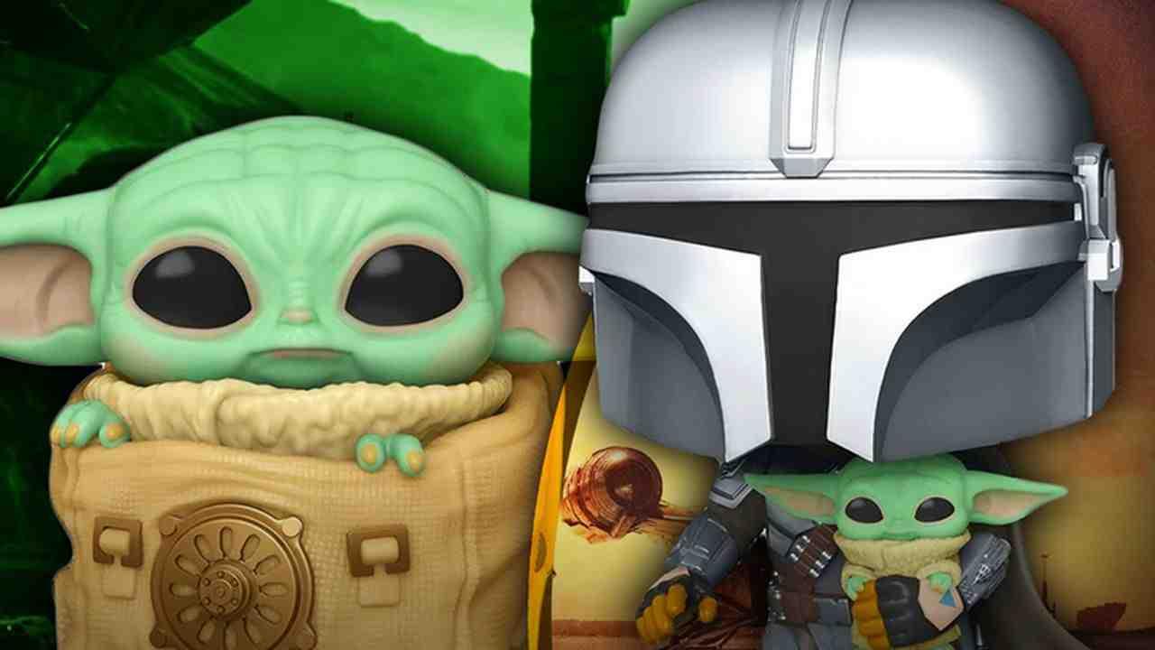 Mando, Baby Yoda, Funko