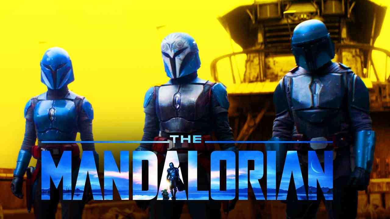 Koska Reeves, Bo-Katan Kryze, Axe Woves, The Mandalorian logo