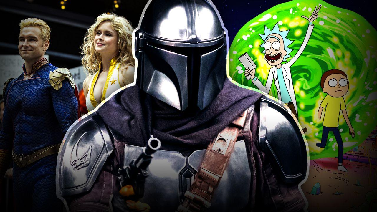 The Boys, The Mandalorian, Rick and Morty