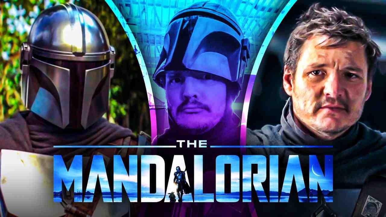 The Mandalorian Pedro Pascal no helmet