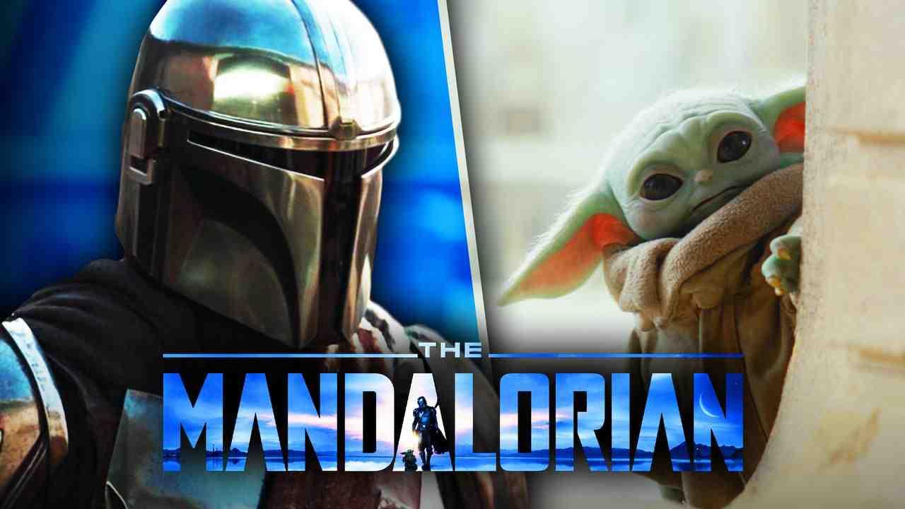 The Mandalorian logo, Mando, The Child