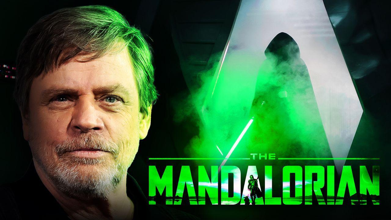 Mark Hamill as Luke Skywalker in the Mandalorian