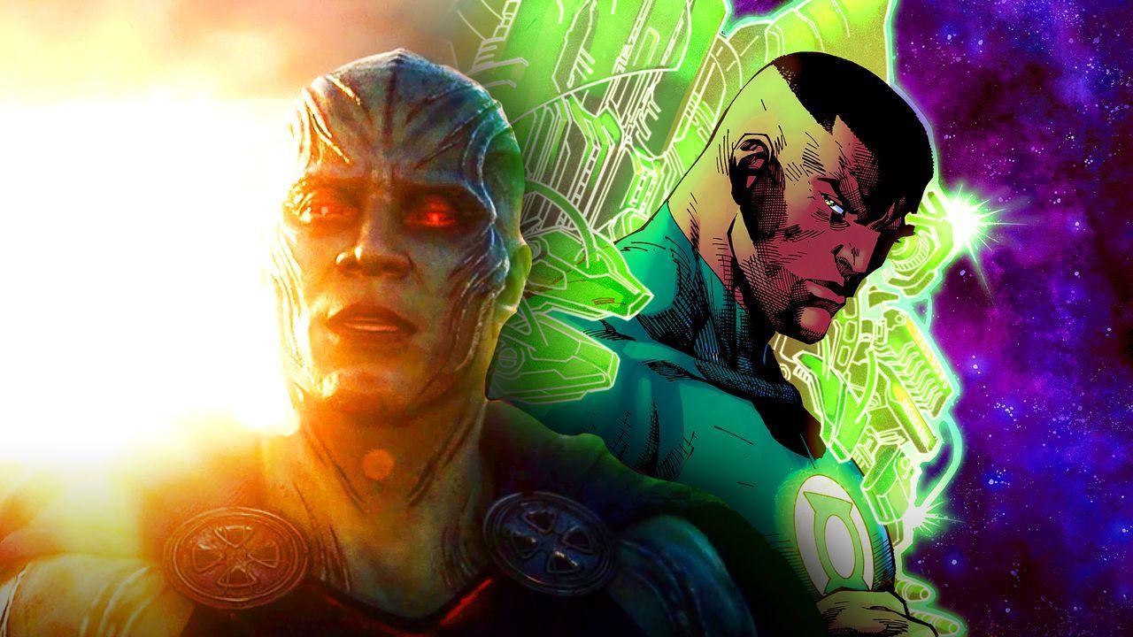 Martian Manhunter Green Lantern Justice League
