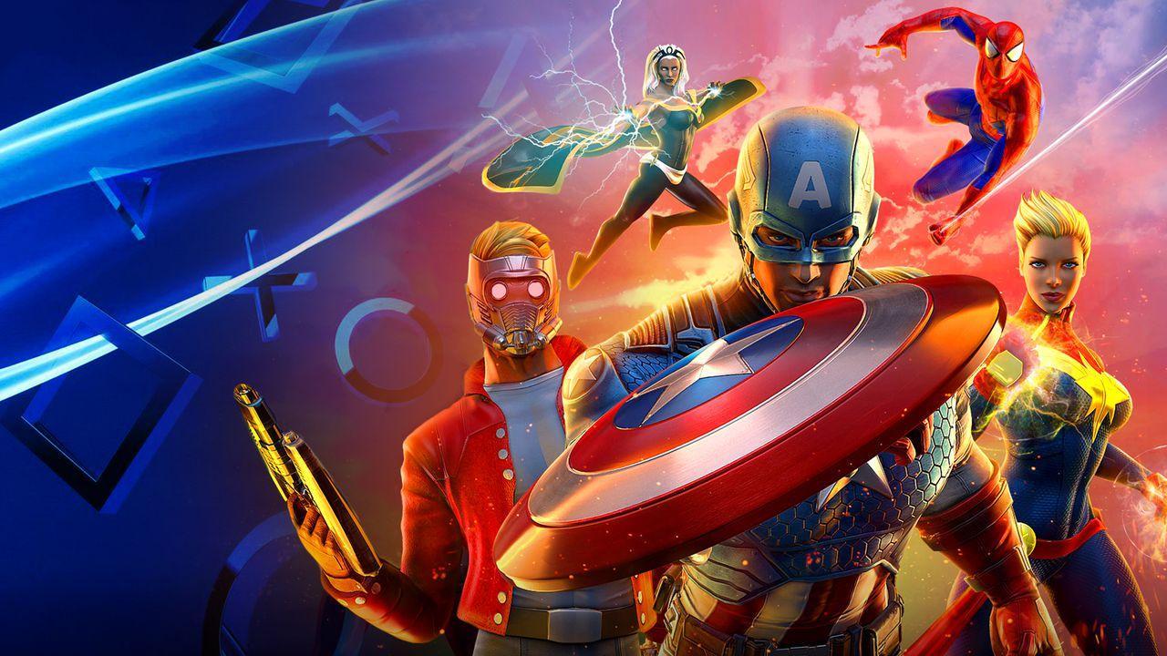 Marvel Multiplayer PlayStation