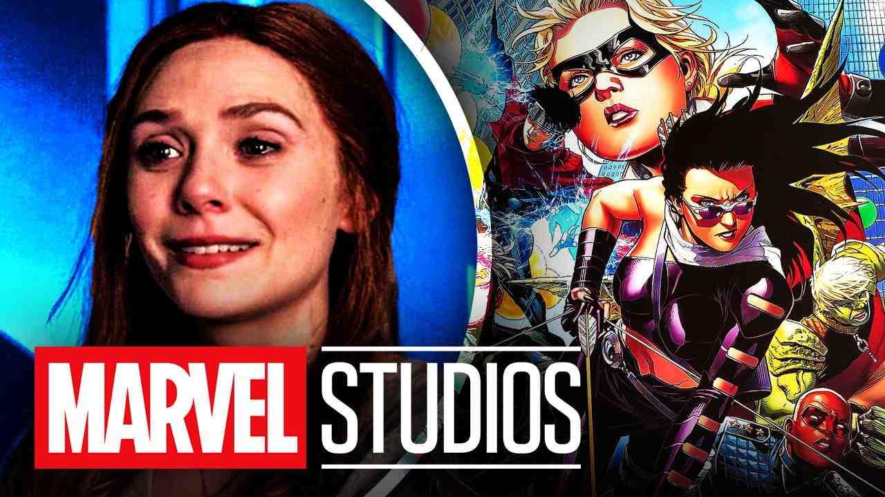 Elizabeth Olsen Young Avengers