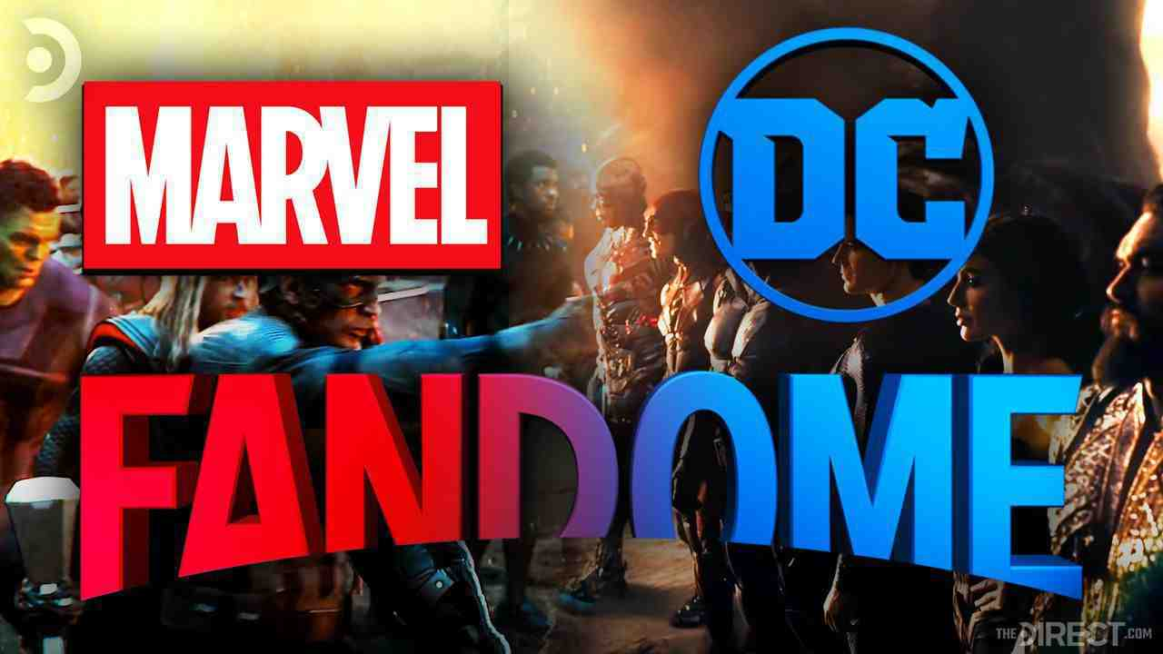 DC Fandome and Marvel Studios Picture