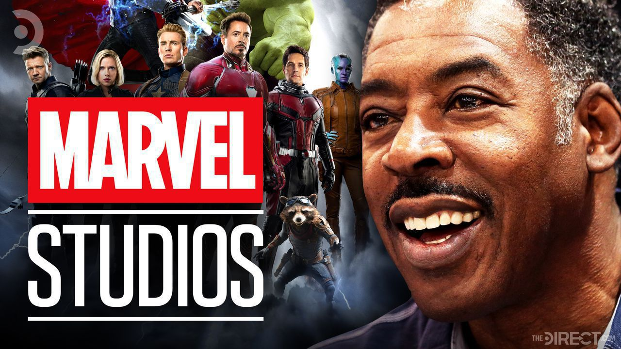 Marvel Studios logo and actor Ernie Hudson