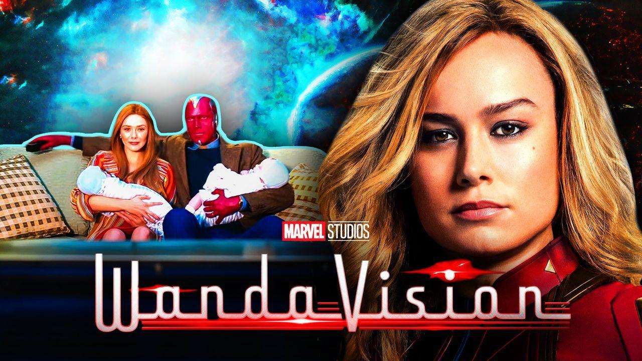 WandaVision Logo, Captain Marvel