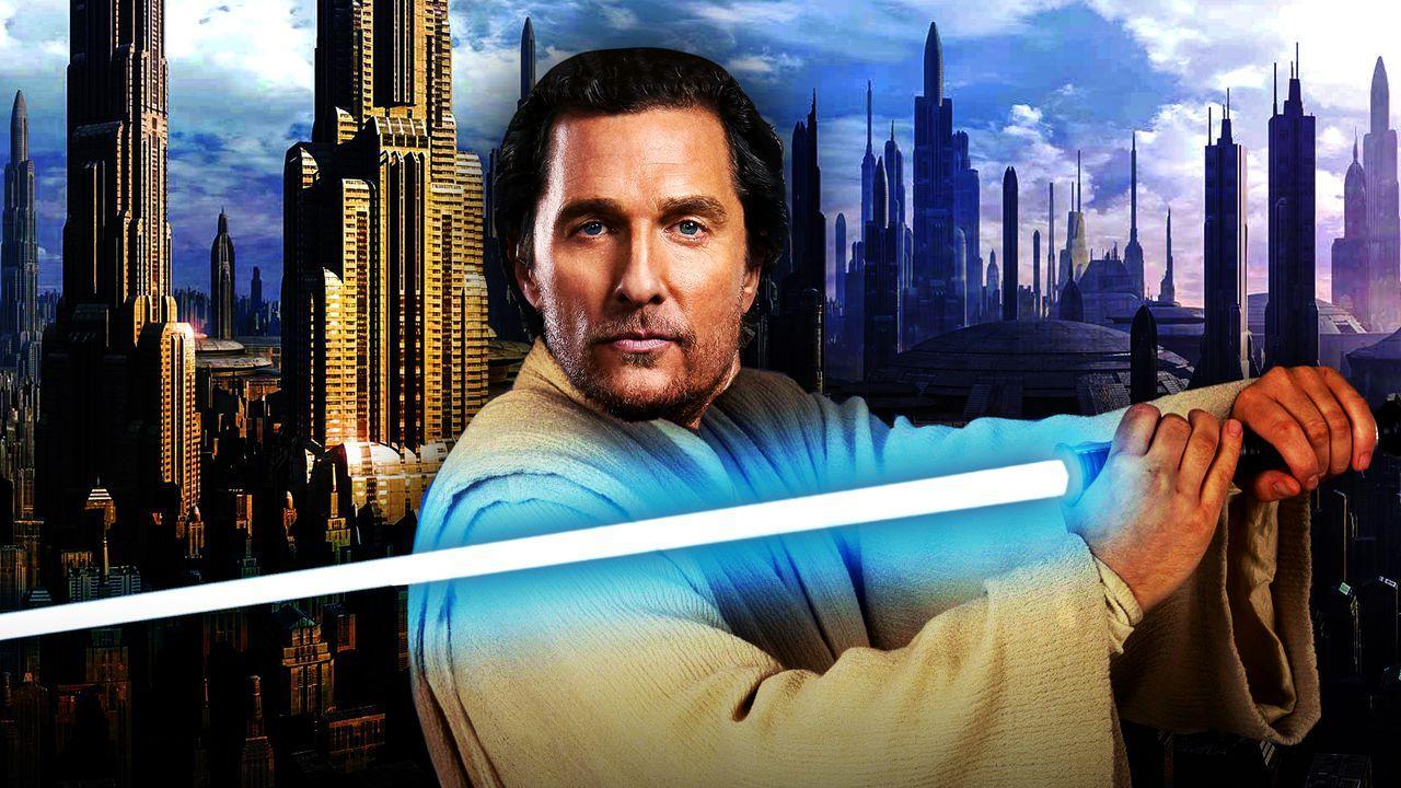 Matthew McConaughey Star Wars Jedi