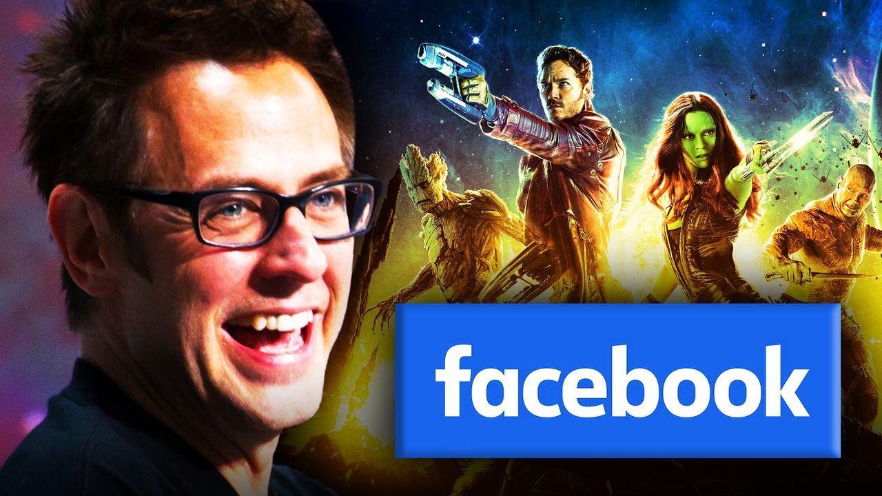 James Gunn, Guardians of the Galaxy, Facebook