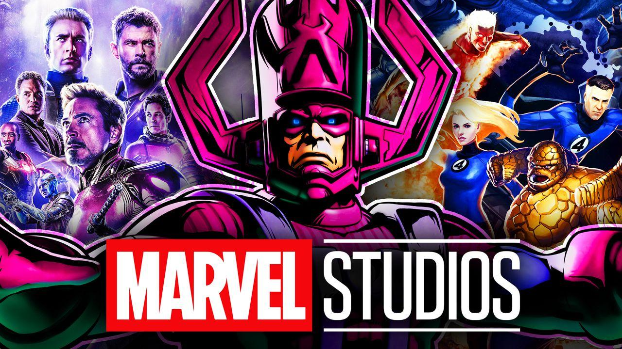 Galactus, the Avengers, and the Fantastic Four