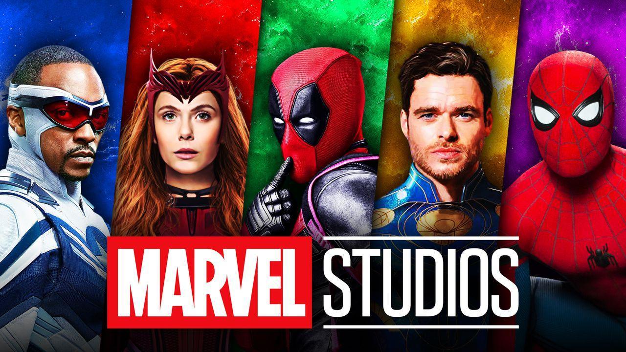 Marvel Studios logo, Captain America, Scarlet Witch, Deadpool, Spider-Man