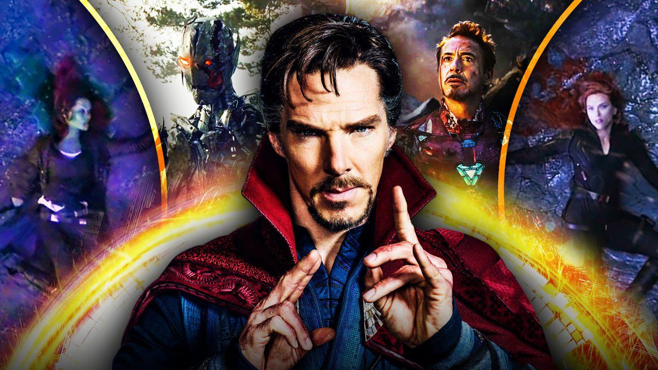 Doctor Strange, Gamora, Black Widow