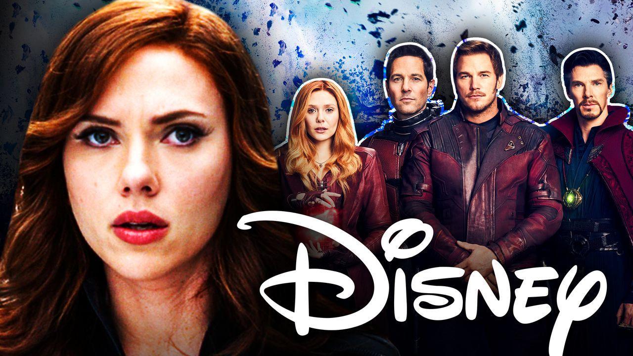 Scarlett Johansson Disney Avengers
