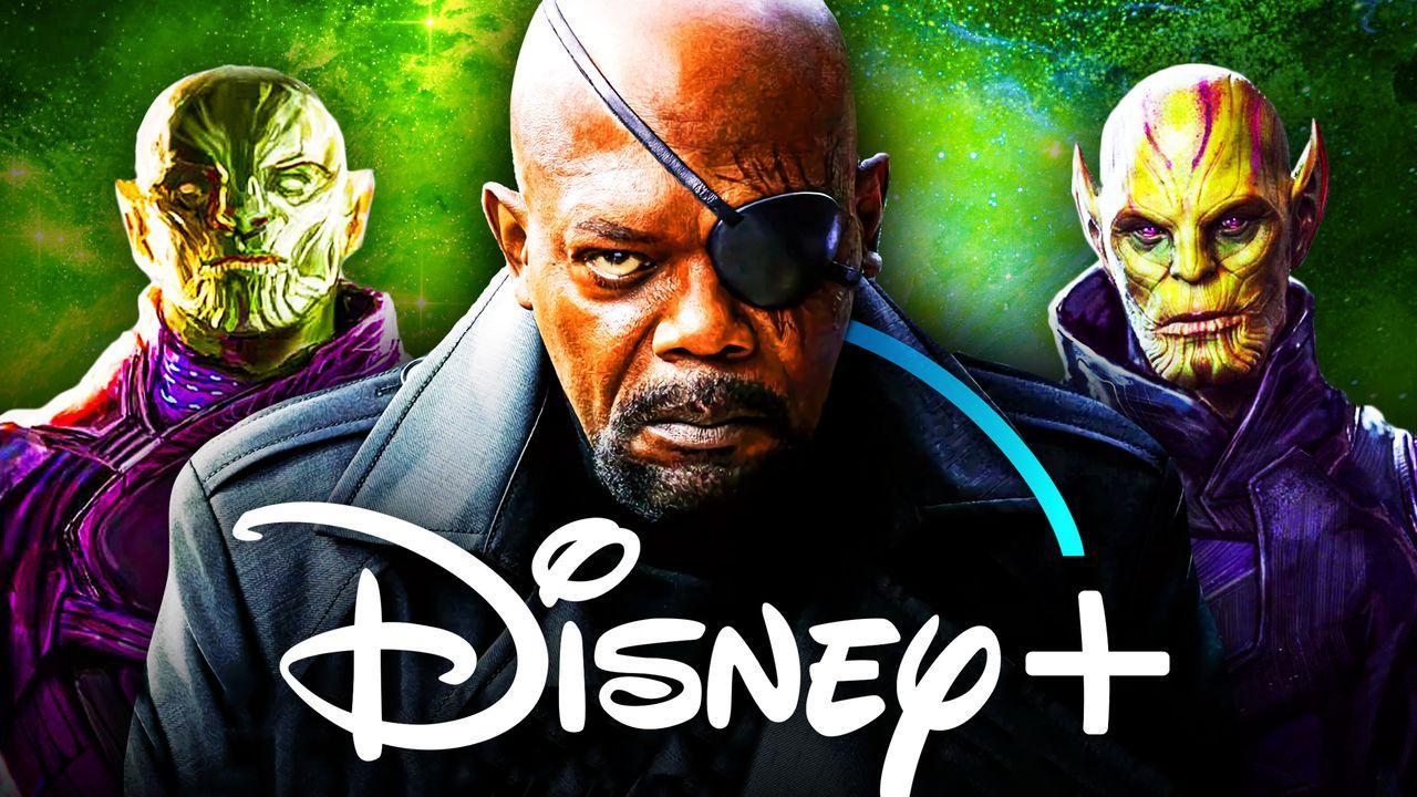 Secret Invasion Disney Plus Show, Nicky Fury, Skrulls