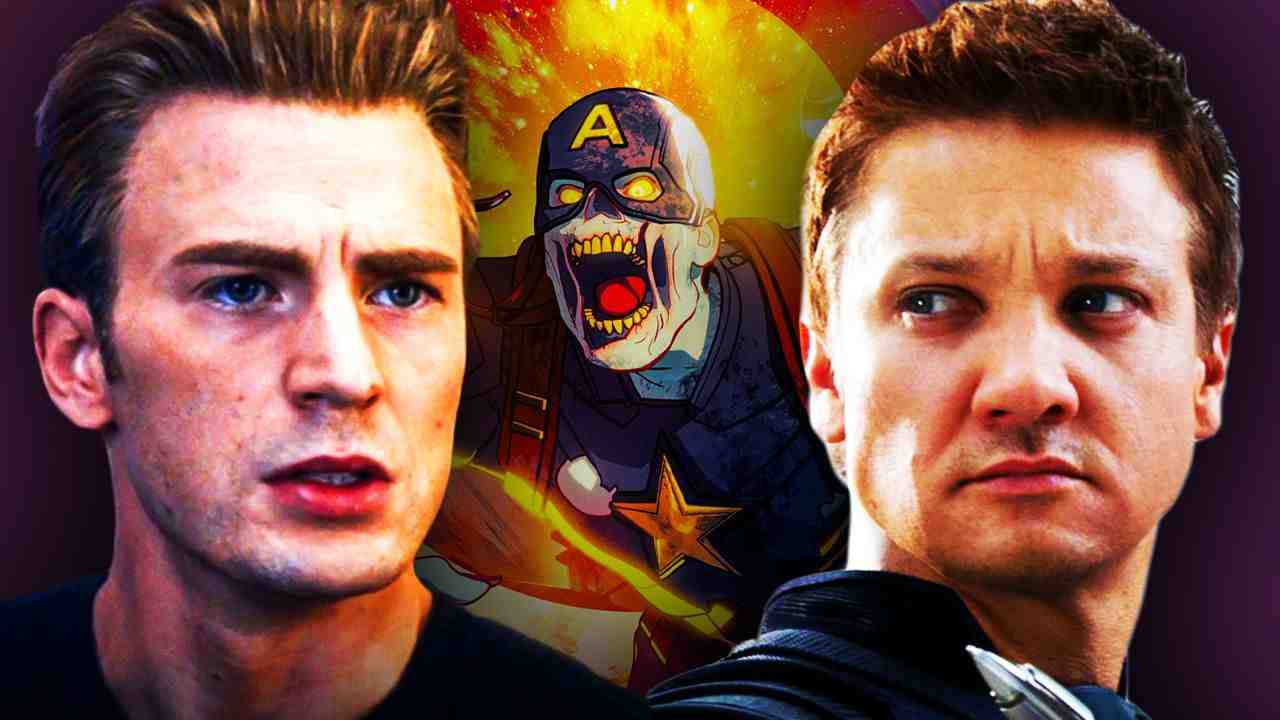 Captain America Hawkeye Marvel Zombies