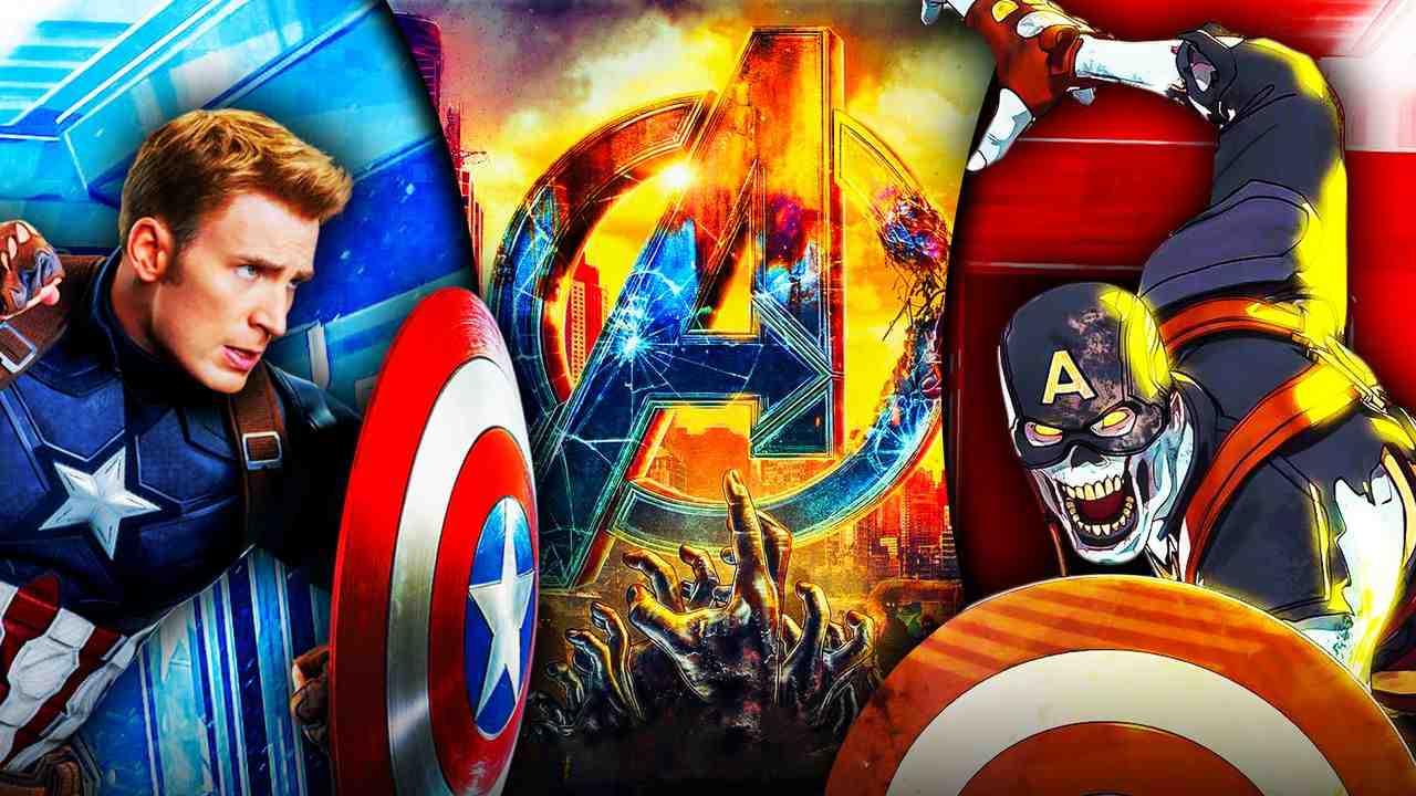 Captain America Zombies Avengers