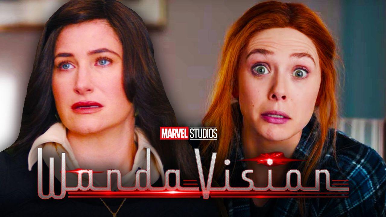 Agnes, Wanda, WandaVision logo