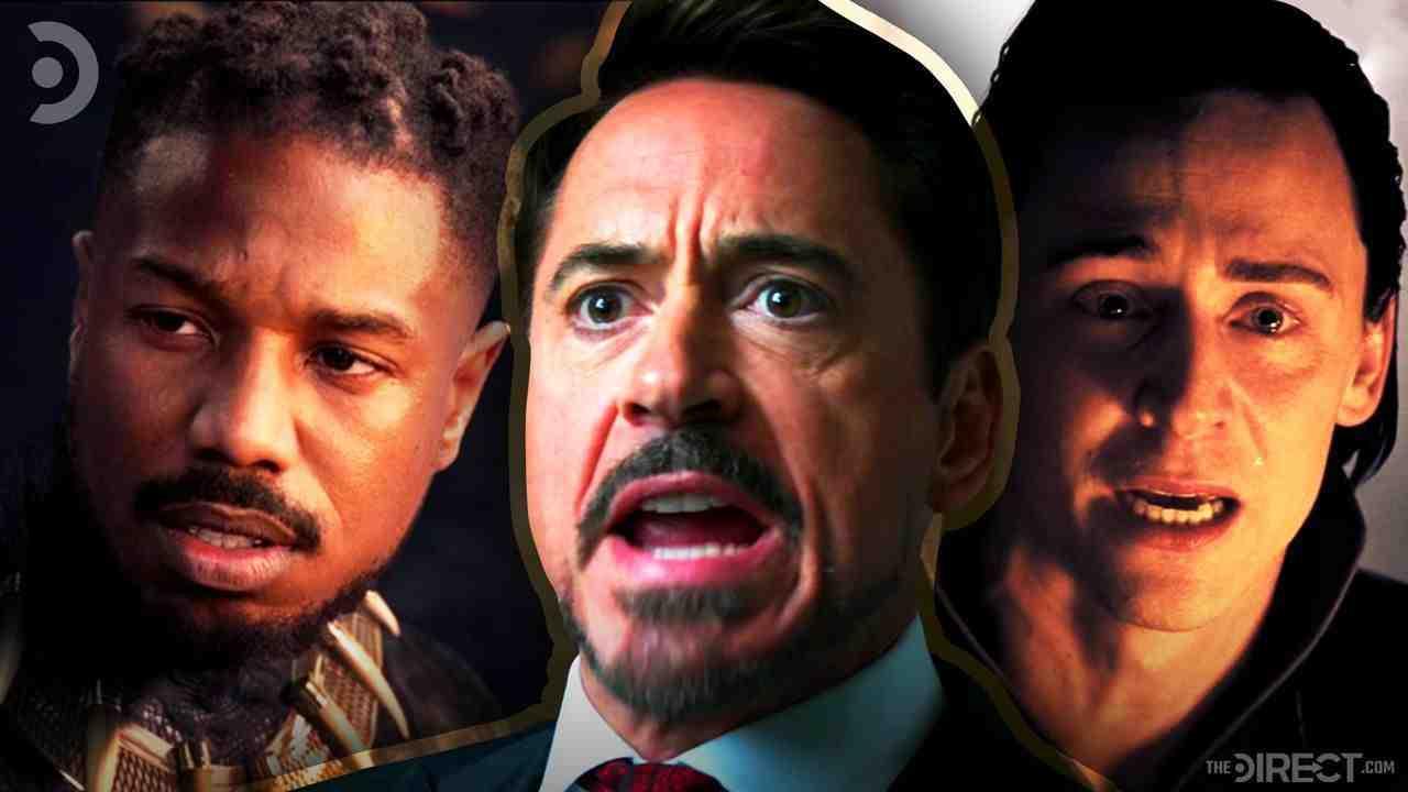 Killmonger, Tony Stark, and Loki