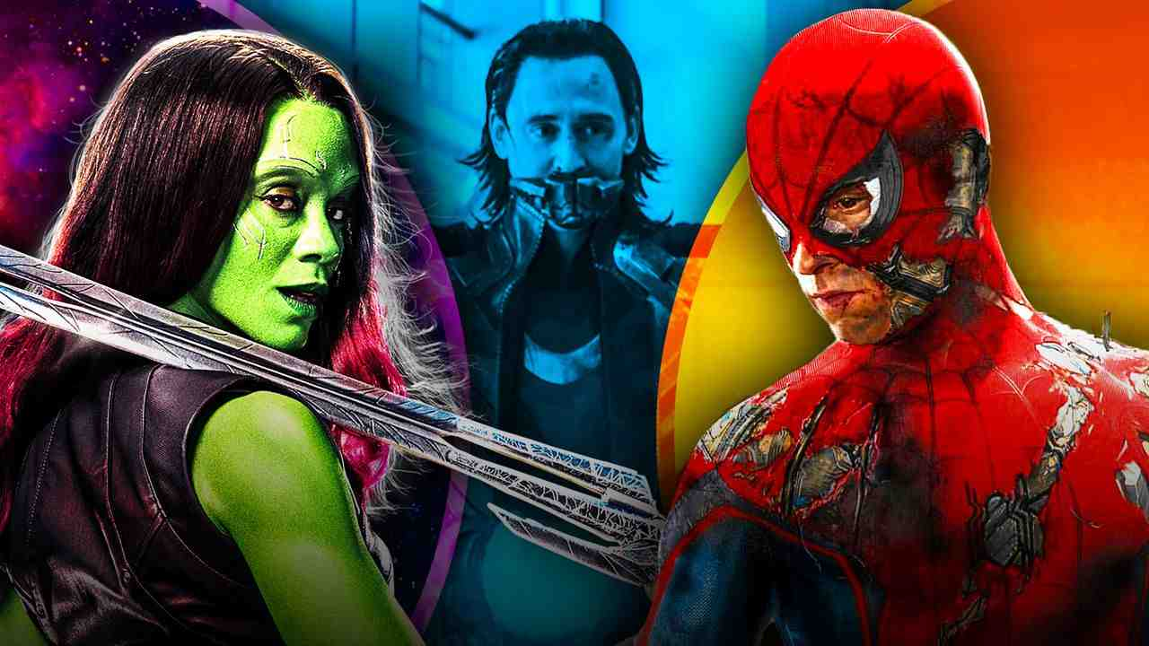 Gamora, Loki, Spider-Man