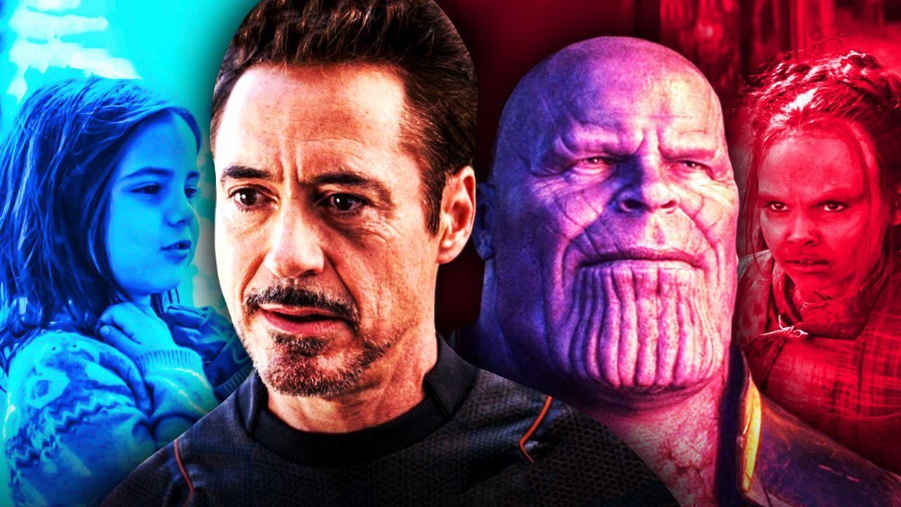 Tony Stark Thanos Gamora Morgan Stark