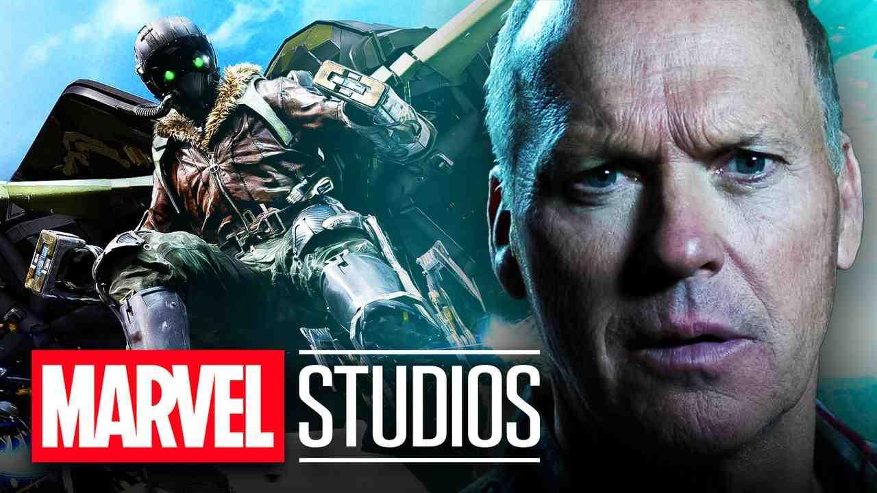 Michael Keaton as Adrian Toomes, Marvel Studios logo, Vulture