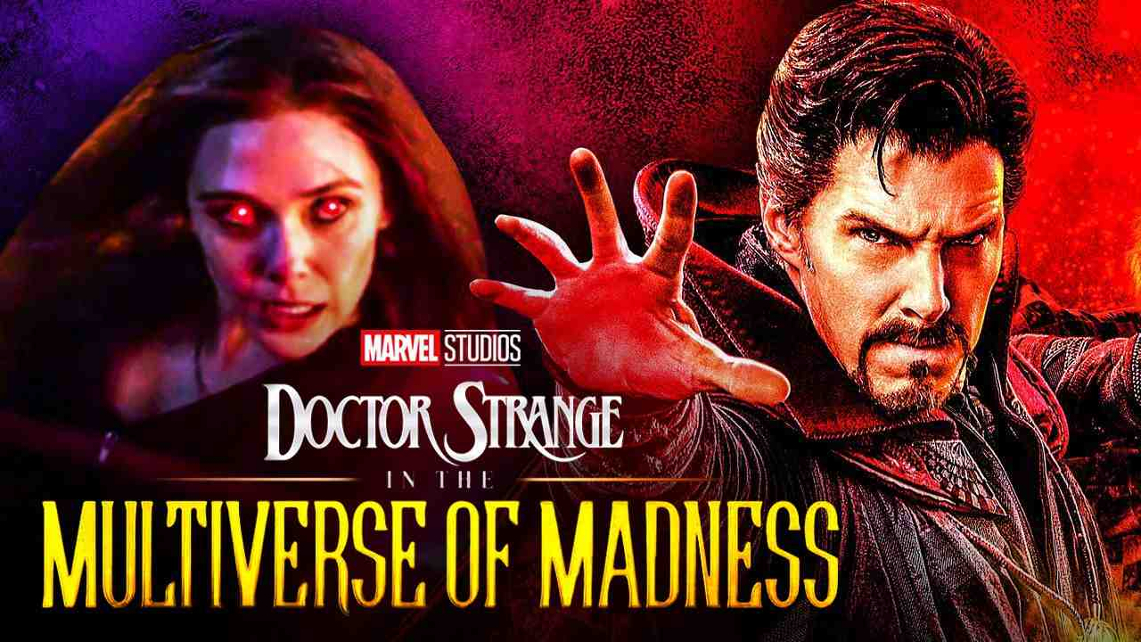 Wanda, Scarlet Witch, MCU, Doctor Strange in the Multiverse of Madness