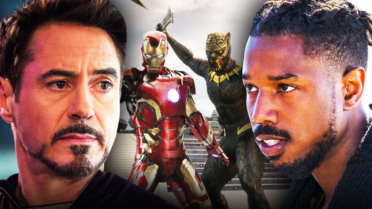 Tony Stark, Iron Man Killmonger Black Panther