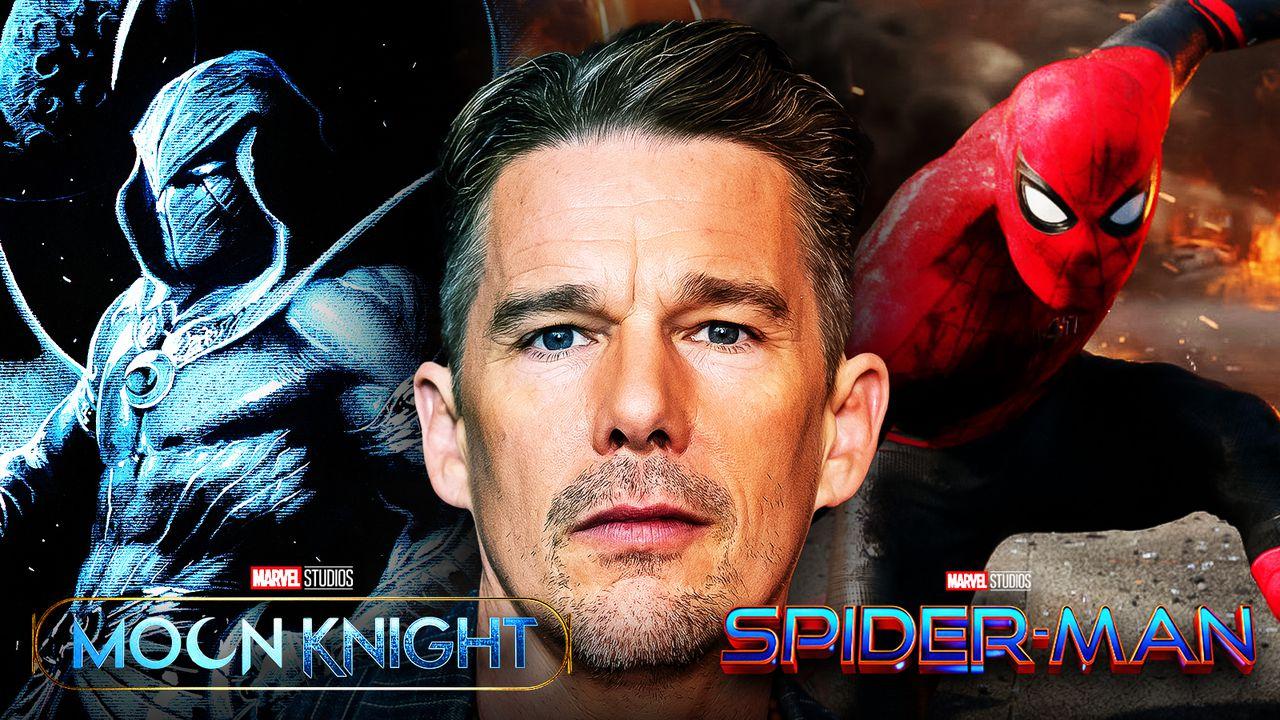 Ethan Hawke, Moon Knight, Spider-Man