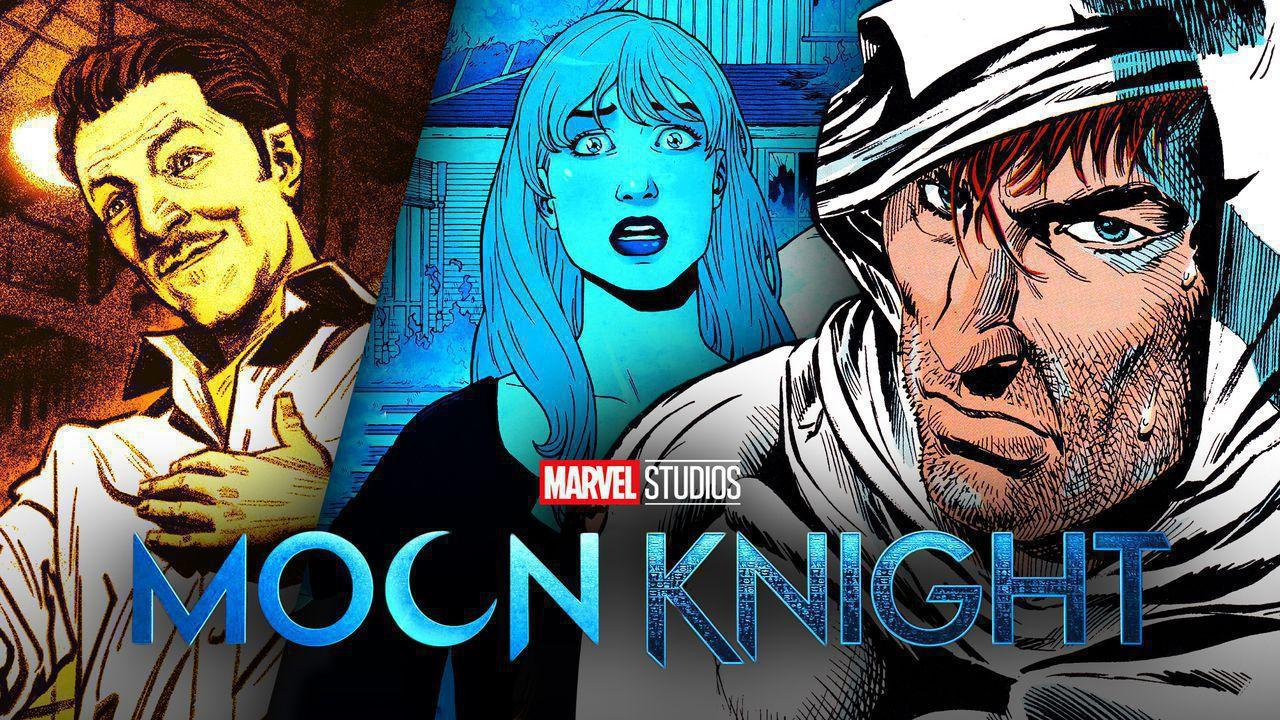 Moon Knight, Frenchie, and Marlene
