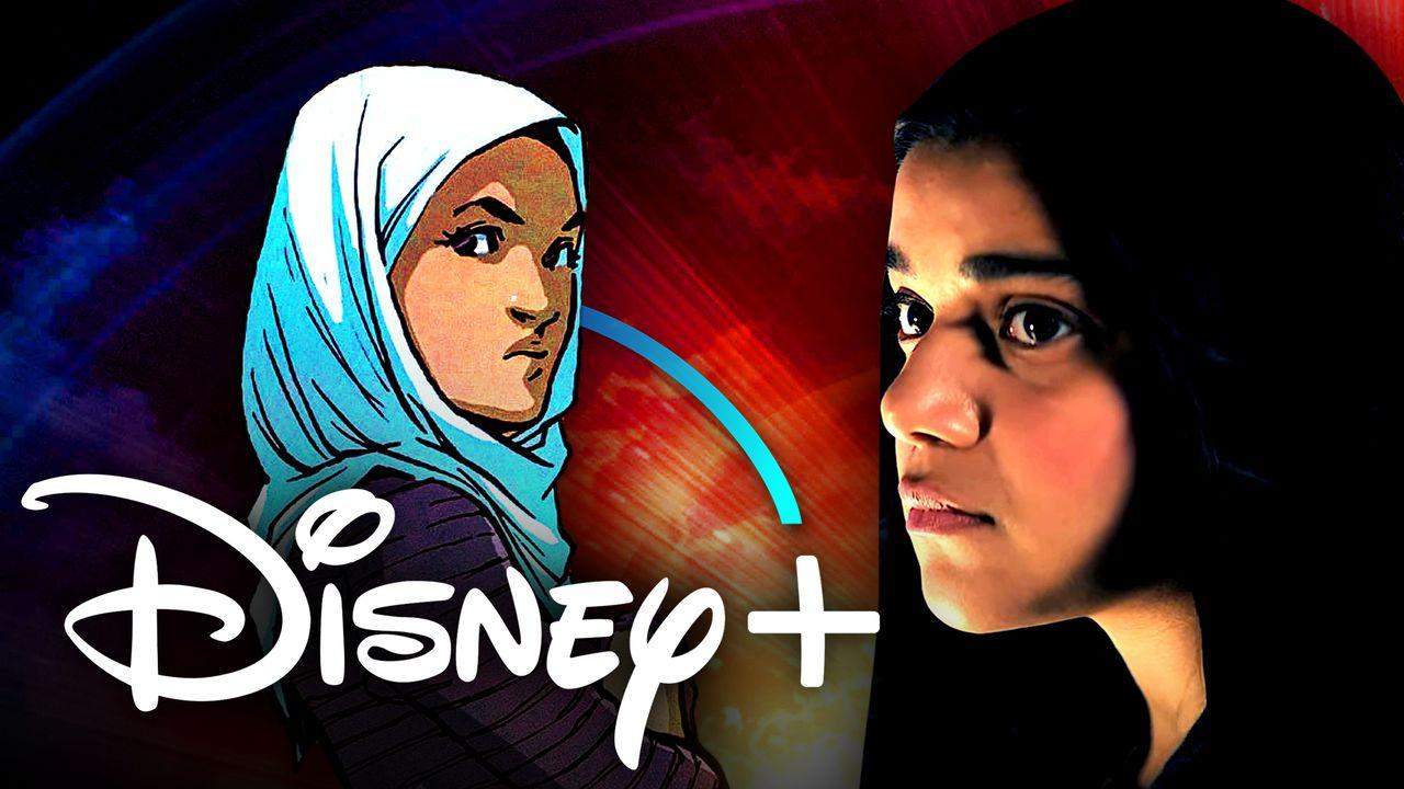Ms. Marvel Disney+ Hijab Character