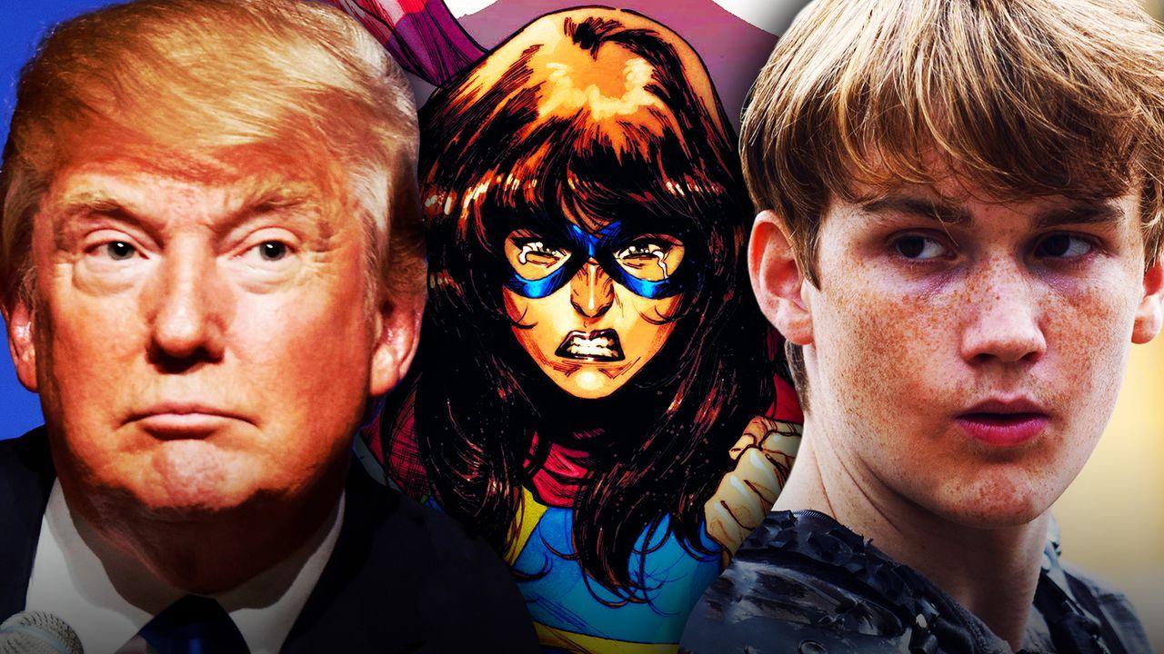 Ms. Marvel, Matt Lintz, Donald Trump